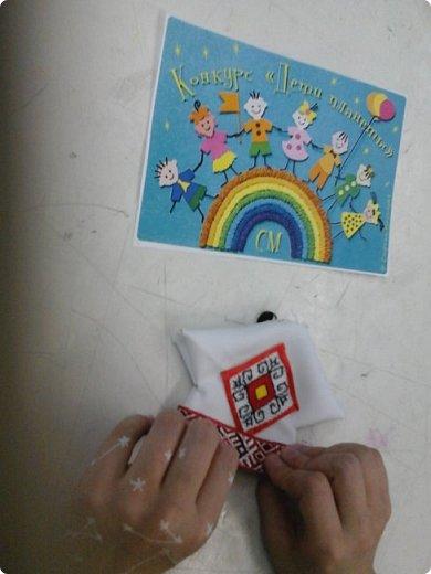 Сестренка и братишка - чувашские ребятишки! На создание таких текстильных куколок вдохновляет наша Чувашская Республика и её яркая национальная чувашская вышивка! фото 17