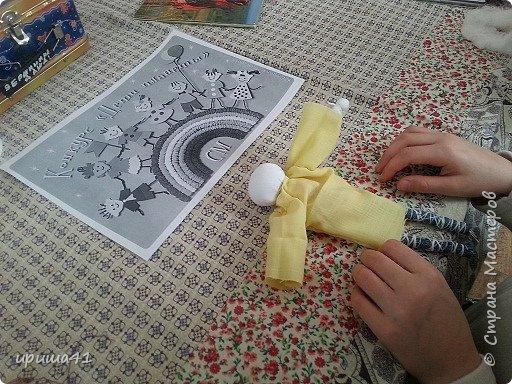 Мне очень нравится Япония своей удивительной культурой. Поэтому я захотела сшить на конкурс куклу-девочку в японском традиционном костюме.  фото 3