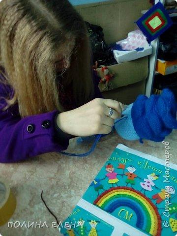 """на конкурс Лиза решила связать персонажа из любимого мультфильма """"Фиксики""""-  Нолика. фото 13"""