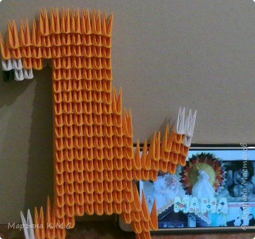 Без модульного оригами никуда. Как только увидела в инете симпатичную картинку - пройти мимо уже не смогла. Сразу села творить) фото 5