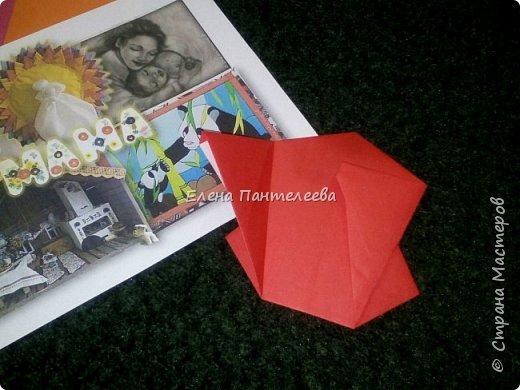 """В честь праздника """"День матери"""" предлагаю свою авторскую разработку по оригами """"Матрёшка с ручками"""". фото 14"""