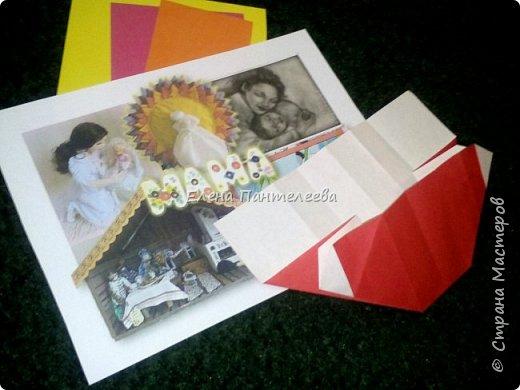 """В честь праздника """"День матери"""" предлагаю свою авторскую разработку по оригами """"Матрёшка с ручками"""". фото 11"""