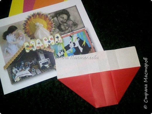 """В честь праздника """"День матери"""" предлагаю свою авторскую разработку по оригами """"Матрёшка с ручками"""". фото 9"""