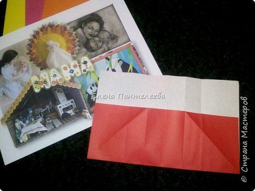 """В честь праздника """"День матери"""" предлагаю свою авторскую разработку по оригами """"Матрёшка с ручками"""". фото 8"""