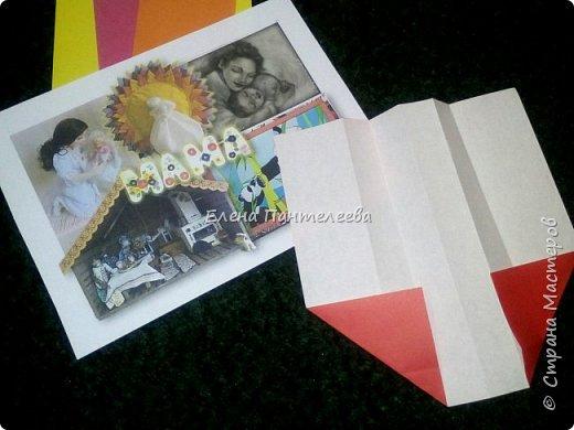 """В честь праздника """"День матери"""" предлагаю свою авторскую разработку по оригами """"Матрёшка с ручками"""". фото 7"""