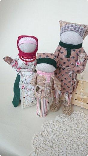 """Здравствуйте!  Разрешите представить вашему вниманию куклу по народным мотивам """"Семья"""". фото 1"""
