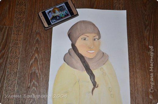 """Для участия в конкурсе решила выбрать номинацию """"Язык изобразительного искусства"""" и нарисовать себя и свою маму фото 4"""