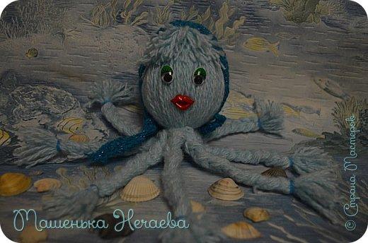Всем доброго вечера! Помните стишок Эдуарда Успенского: Жил осьминог Со своей осьминожкой, И было у них Осьминожков немножко. Правда замечательный стишок!!?? Вот мама из этого стишка пошла гулять с тремя осьминожками, а папа с остальными дома остался.  фото 3