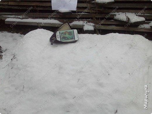 добрый день, вот и мы дождались снега, и конечно же захотелось что-нибудь из него сделать, а тут как раз узнала про конкурс ну и решила, а почему бы не попробовать. фото 2