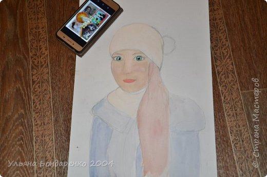 """Для участия в конкурсе решила выбрать номинацию """"Язык изобразительного искусства"""" и нарисовать себя и свою маму фото 6"""