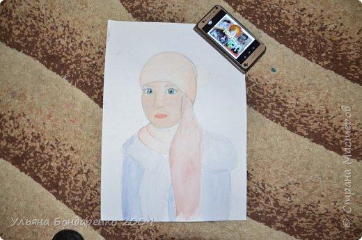 """Для участия в конкурсе решила выбрать номинацию """"Язык изобразительного искусства"""" и нарисовать себя и свою маму фото 7"""