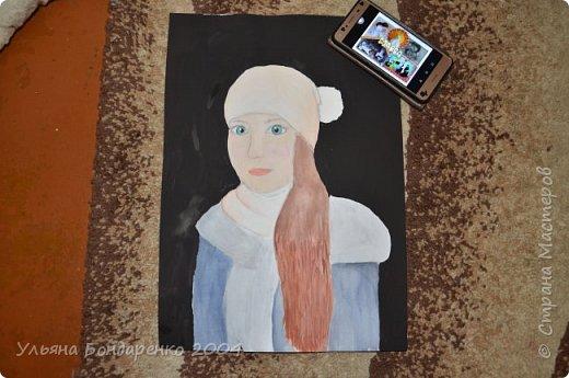 """Для участия в конкурсе решила выбрать номинацию """"Язык изобразительного искусства"""" и нарисовать себя и свою маму фото 8"""