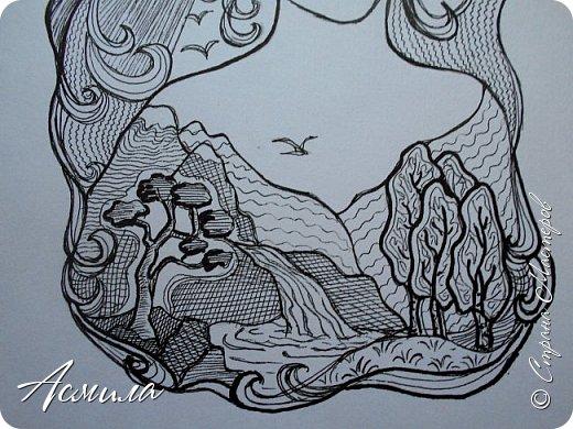 Здравствуйте, дорогие жители Страны! Представляю  свою работу - образ Матушки Природы. фото 8