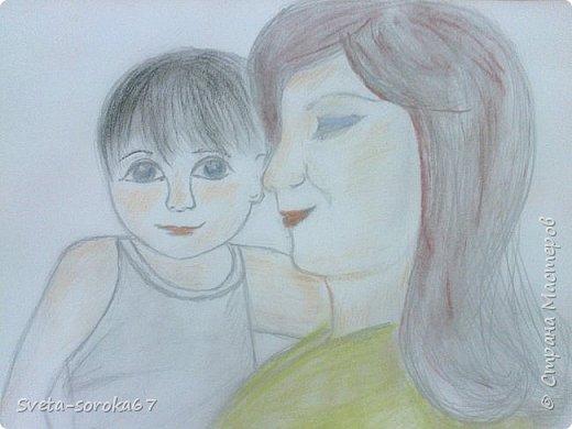 Обнимая маму фото 8
