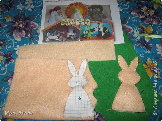 Сегодня я представляю Вам - Дружную семейку. Наблюдая за поведением кроликов, у меня родилась эта задумка.... фото 7