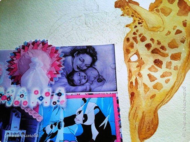 """Моё любимое животное это жирафы.  Они очень красивые, грациозные смешные и милые. Откуда берутся жирафы? Почти с двухметровой высоты. Пятнадцать месяцев мама-жираф вынашивает своего ребенка, а затем - роды, и единственный детеныш жирафа, весящий около 60 кг, падает на землю с двухметровой высоты. Во всем есть своя польза: при таком """"ошеломительном"""" рождении легко разрывается пуповина.   фото 3"""