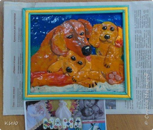 Вот какое собачье семейство получилось у Ксюши в итоге. фото 6