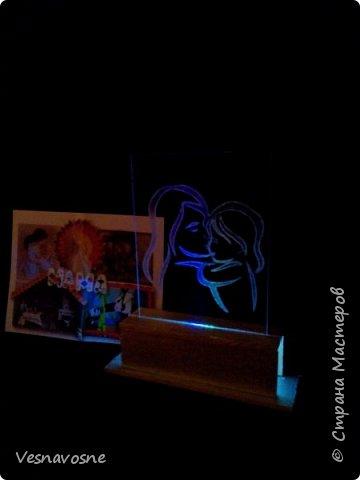 """Необычный светильник """"Мой путеводный свет - Мама"""" фото 8"""