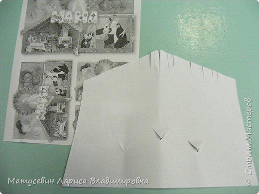 """В серии мультфильма """"Бумажки"""", мы увидели долгожданную встречу сойки Аглаи со своими только что вылупившимися птенчиками.Мы с учащимися решили сделать сойку Аглаю с её потомством .Вот такое счастливое гнездо у нас получилось.  фото 2"""