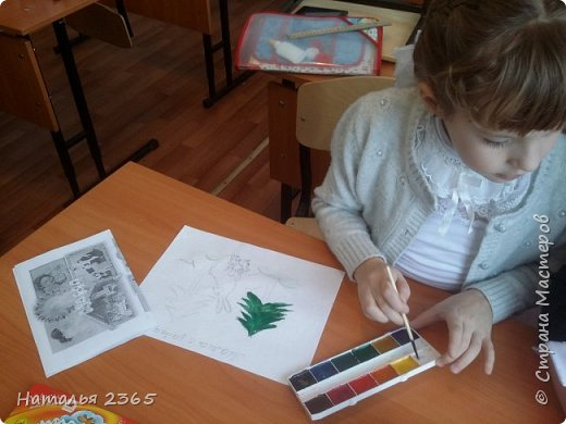 Здравствуйте!  Представляю работу своей ученицы Банниковой Саши. фото 3