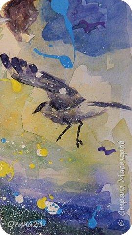 Материнские руки - воплощение нежности (Виктор Гюго).    Нежность - это желание обнять,. Объятия - способ выразить свою любовь, готовность защитить.   Неожиданно для  меня самой получилась работа в виде триптиха, выполненная акварелью и  акрилом на листах формата А3 в технике интуитивного рисования. фото 14