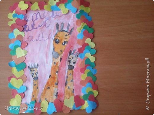 Здравствуйте! Представляю работу Мулахметовой Насти, моей ученицы. Настя любит рисовать и любит животных, поэтому и выбрала эту номинацию. (Мы исправили свой недочет,  оформили  работу в рамку.  Правда мнения разделились, т.к. у нас есть ещё  варианты рамок. Этот выбрали Настя  и её мама :).  ) фото 7