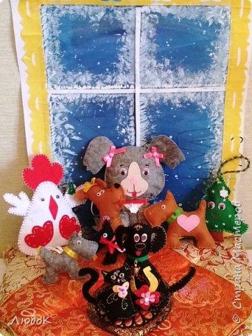 Семья домашних питомцев в преддверье нового года! фото 9