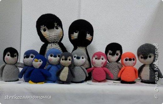 """Всем привет! Императорские пингвины приветствуют жителей """"Страны мастеров"""" фото 1"""