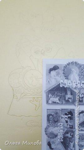 """Здравствуйте, уважаемые жители Страны Мастеров! Принимайте конкурсную работу Матвея и Ильи. """"Творческая мама"""" в образе мудрой совы. А рядышком ее детки) Работа сделана по мотиву иллюстрации Инги Измайловой.  фото 2"""