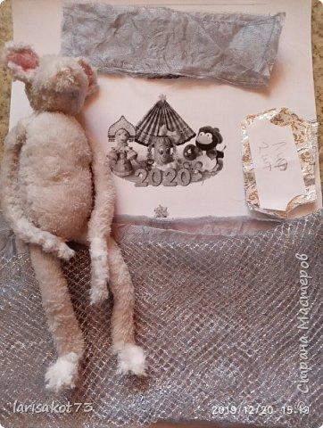 """Мягкая игрушка мышка в карнавальном костюме """"Крестная Фея"""".  фото 7"""