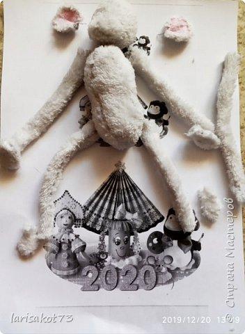 """Мягкая игрушка мышка в карнавальном костюме """"Крестная Фея"""".  фото 6"""