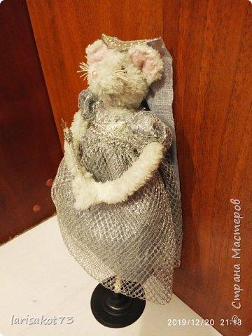 """Мягкая игрушка мышка в карнавальном костюме """"Крестная Фея"""".  фото 10"""