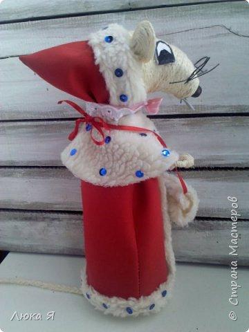 Белая крыса на мышином карнавале в костюме Герды ожидает боя куранов, чтобы отрезать кусочек торта фото 8