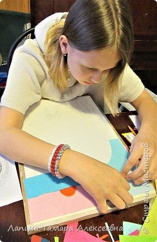 """Алеся создала плакат""""Мои мечты на 2020""""- плакат реализации своих мечт. Где-то читала, Тамара Алексеевна говорила, что мечты могут сбыться если очень захотеть и сделать рисунок или плакат своих желаний.   Начала выполнять плакат, а тут конкурс и подходящая номинация.      фото 3"""