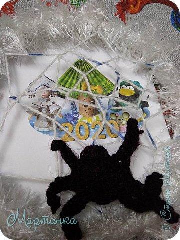 Паучок плетет зимнюю паутинку для снов. фото 6