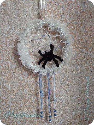 Паучок плетет зимнюю паутинку для снов. фото 8