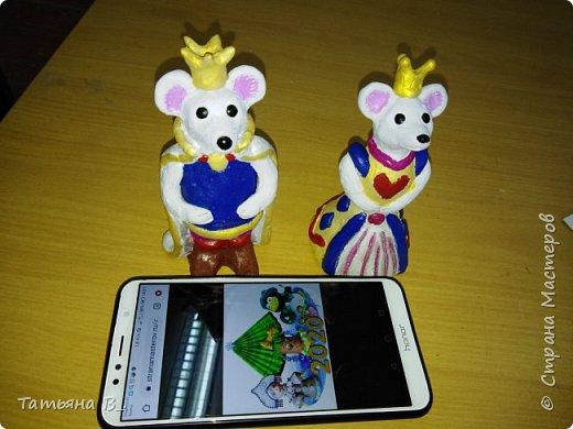 Мы решили сделать короля и королеву в нарядных костюмах. фото 6