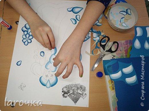 """""""Сине-голубое чудо"""". Именно так называют русский народный промысел Гжель. И чудесная Снегурочка Насти и Кати сине-голубая! фото 8"""