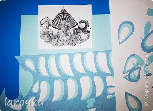 """""""Сине-голубое чудо"""". Именно так называют русский народный промысел Гжель. И чудесная Снегурочка Насти и Кати сине-голубая! фото 4"""