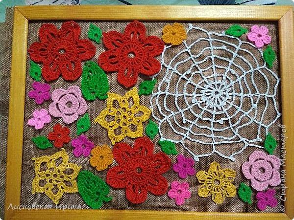 Из росы цветочной плетет паучок ковёр прочный, красочный и яркий.  фото 8