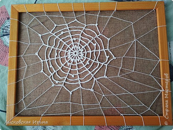Из росы цветочной плетет паучок ковёр прочный, красочный и яркий.  фото 10