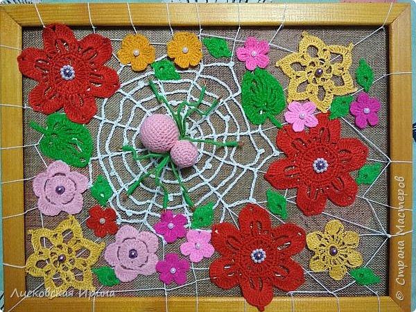 Из росы цветочной плетет паучок ковёр прочный, красочный и яркий.  фото 13