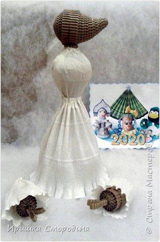 Здравствуйте, уважаемые жители Страны Мастеров! Сегодня на праздничный карнавал пришла и моя мышка - Снежная Королева. фото 6