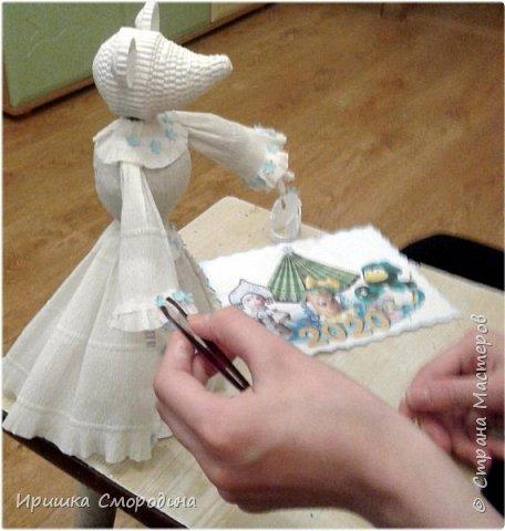 Здравствуйте, уважаемые жители Страны Мастеров! Сегодня на праздничный карнавал пришла и моя мышка - Снежная Королева. фото 7