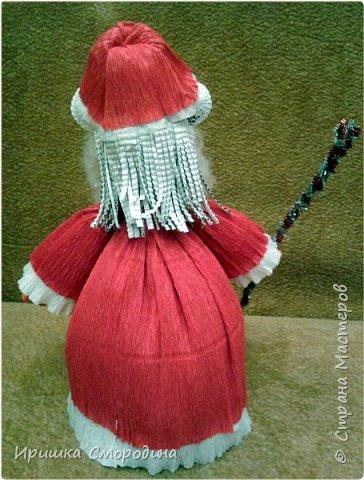 Здравствуйте, дорогие жители Страны Мастеров! Я (Ольга Смородина) перебралась в блог своей дочки Иришки, потому, что у себя уже разместила 5 работ.  Лена отправила на карнавал Дедушку Мороза.  фото 11