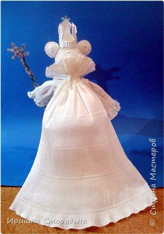 Здравствуйте, уважаемые жители Страны Мастеров! Сегодня на праздничный карнавал пришла и моя мышка - Снежная Королева. фото 10