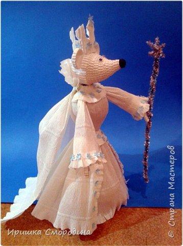 Здравствуйте, уважаемые жители Страны Мастеров! Сегодня на праздничный карнавал пришла и моя мышка - Снежная Королева. фото 11