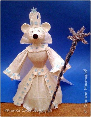Здравствуйте, уважаемые жители Страны Мастеров! Сегодня на праздничный карнавал пришла и моя мышка - Снежная Королева. фото 13