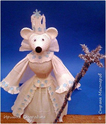 Здравствуйте, уважаемые жители Страны Мастеров! Сегодня на праздничный карнавал пришла и моя мышка - Снежная Королева. фото 12
