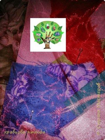 """Моя работа """" Летняя сумочка """", решила поучаствовать в конкурсе , так как большинство  поделок у меня из отходного материала, увлеклась лоскутным шитьем , сумочка выполнена в технике """" Пицца """" показываю процесс изготовления    фото 4"""